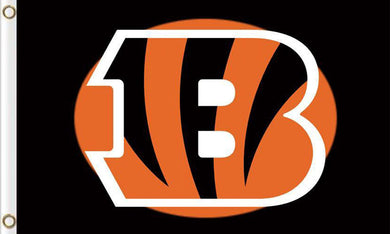 Cincinnati Bengals Flags 3ftx5ft