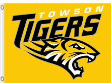 Load image into Gallery viewer, Towson Tigers sports team flag Digital Printing