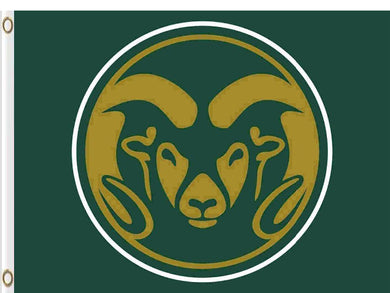 Colorado State Rams Hand Flag 3*5ft