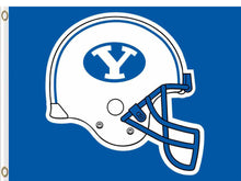 Load image into Gallery viewer, Brigham Young Cougars Falcons Hand Flag 3*5ft