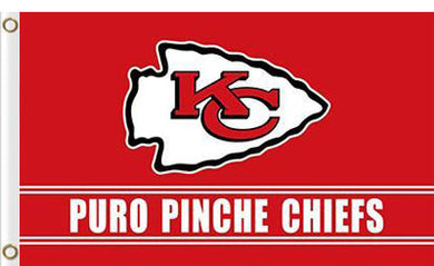 Kansas City Chiefs Puro Pinche flag 3x5FT