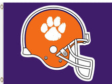 Load image into Gallery viewer, Clemson Tigers Hand Flag 3*5ft