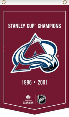 3x5ft Colorado Avalanche Stanley Cup Champions Flag