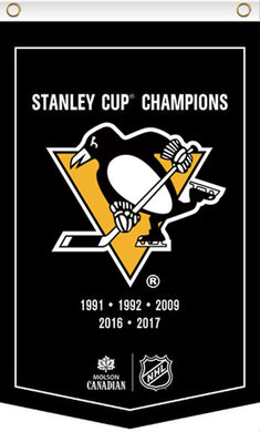 3x5ft New Design Pittsburgh Penguins Champions