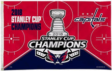 Load image into Gallery viewer, 3x5ft Design 2018 Washington Capitals Champions