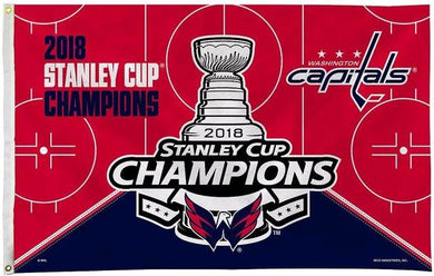 3x5ft Design 2018 Washington Capitals Champions