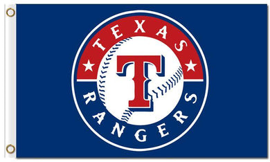 3x5ft Polyester Digital Print Texas Rangers