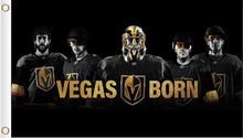 Load image into Gallery viewer, 3x5ft Vegas Golden Knights Players Poster Flag