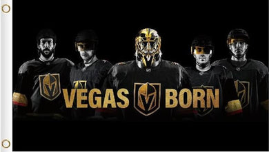 3x5ft Vegas Golden Knights Players Poster Flag