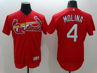 Men Stitched Jersey Yadier Molina For Fans