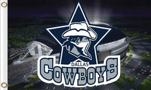 Load image into Gallery viewer, Dallas Cowboys National Football Club Flags 3ftx5ft