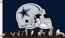 Load image into Gallery viewer, Dallas Cowboys National Football Logo Flags 3ftx5ft