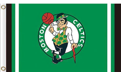 Boston Celtics custom flag 3ftx5ft polyester