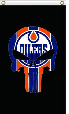 Edmonton Oilers sports team flag