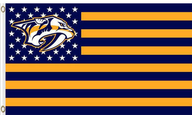 Nashville Predators flags 90x150cm
