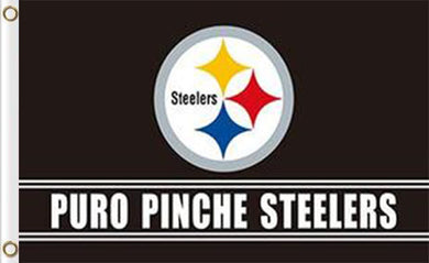 Pittsburgh Steelers Puro Pinche Flags 3ftx5ft