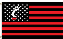 Load image into Gallery viewer, Cincinnati Bearcats Star Nation Banner Flag 3*5ft