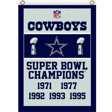 Dallas Cowboys Champions Flag 3x5 ft