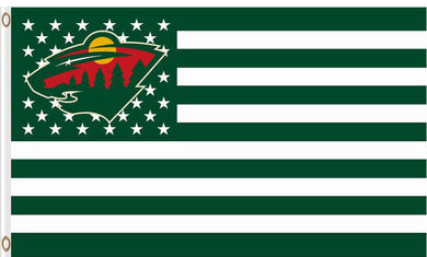 Digital print Minnesota Wild flag 90x150cm