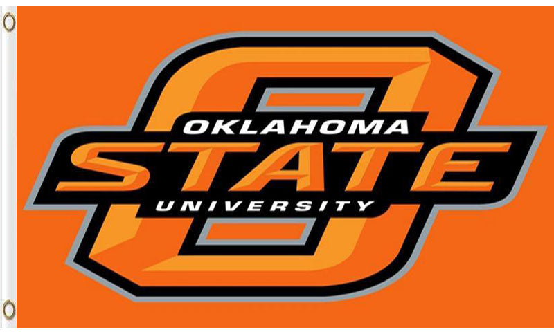 Oklahoma State Cowboys sports team flag