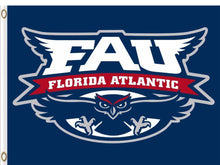 Load image into Gallery viewer, Florida Atlantic Owls Flag 3*5ft Club Basketball