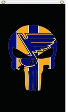 Load image into Gallery viewer, St Louis Blues Flag 3ftx5ft
