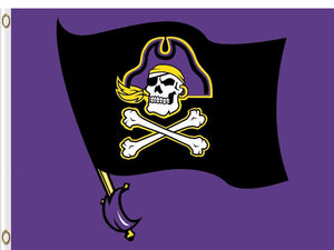 East Carolina Pirates Flag 3*5ft Club