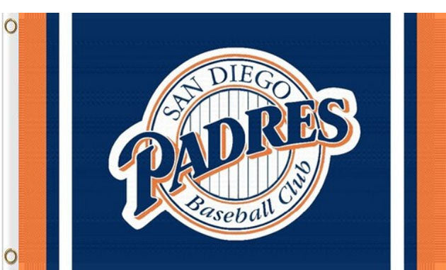 San Diego Padres Polyester Banner Flags 90x150cm Mondour