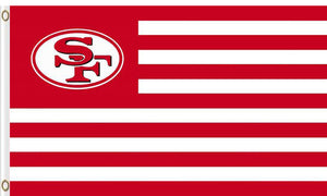 San Francisco 49ers Logo Sports Flags 3ftx5ft