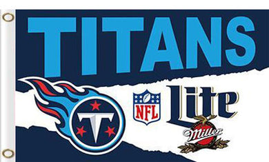Tennessee Titans  Banners Lite Flags 3ftx5ft