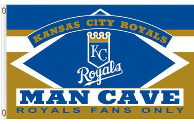 Kansas City Royals Man Cave Banner flags 3ftx5ft