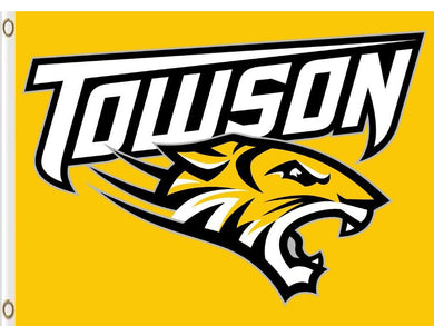 Towson Tigers sports team flag Digital Printing