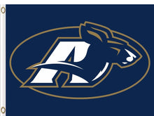 Load image into Gallery viewer, Akron Zips Logo Hand Flag 3ftx5ft