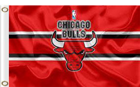 Chicago bulls Flag 3x5 FT