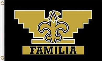 New Orleans Saints Familia Flags 3*5FT