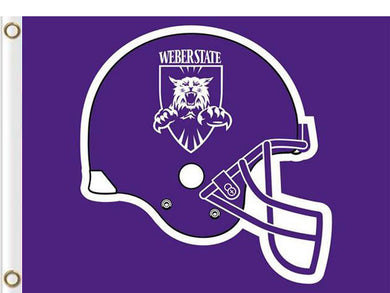 Weber State Wildcats Digital Printing Flag 3*5ft