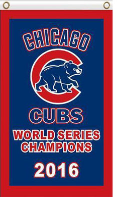 Chicago Cubs 2016 world series flag 3ftx5ft