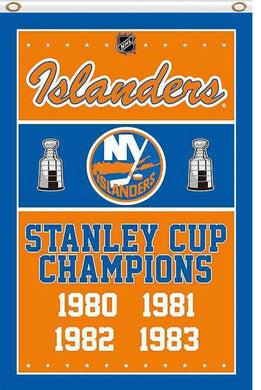 New York Islanders champions flag 90x150cm