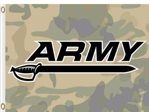 Army Black Knights Hand Flag 3*5ft