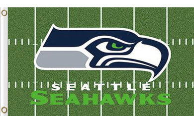 Seattle Seahawks 3x5FT Green Flags