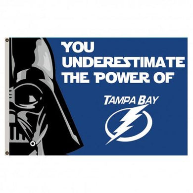 Tampa Bay Lightning Star War 3x5ft Flag