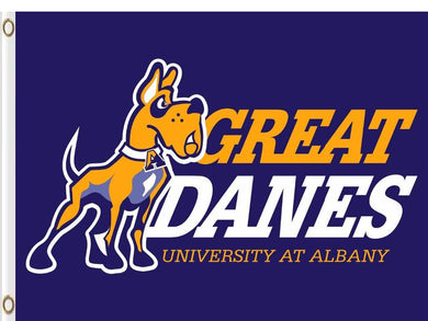 Albany Great Danes Logo Hand Flag 3*5ft