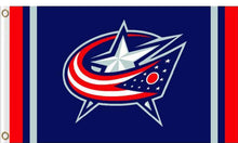 Load image into Gallery viewer, Columbus Blue Jackets Column Flag 3x5FT banner 100D
