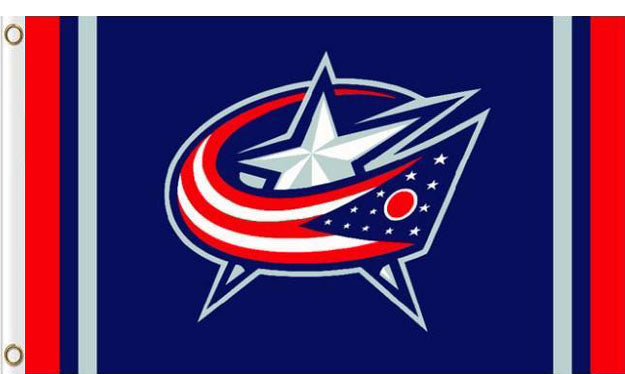 Columbus Blue Jackets Column Flag 3x5FT banner 100D