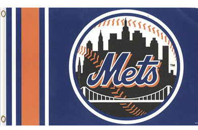 New York Mets Logo Banner flag 3x5ft
