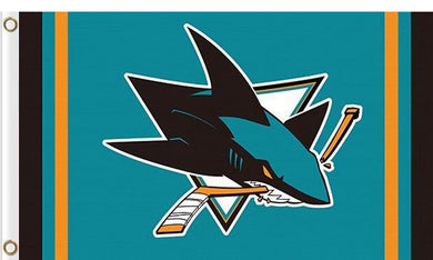 San Jose Sharks custom flag 3ftx5ft