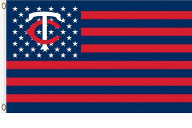 Minnesota Twins USA American Banner flag 3ftx5ft