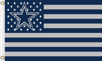 Dallas Cowboys National Football Logo Flags 3ftx5ft