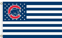 Load image into Gallery viewer, Chicago Cubs Flag with Star and Stripe 3FTx5FT