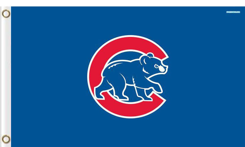 Chicago CubTeam flag 3ftx5ft